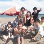 今日も最高のお天気三浦海岸BBQ