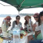 真夏の三浦海岸BBQと海水浴