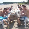 まるで 真夏の海水浴場 三浦海岸BBQ