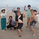 三浦海岸BBQと海水浴