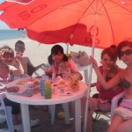 暑い夏,いやいや熱い夏です、三浦海岸ビーチBBQ