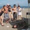 平日のビーチBBQはとっても空いていてゆっくりできます。