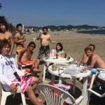 マリンスポーツとビーチbbq、三浦海岸
