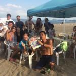 まだまだ真夏、三浦海岸