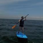 三浦海岸は今日も夏空のSUP