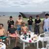 まだまだ海水浴とビーチBBQ、三浦海岸