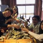 牡蠣小屋&海遊び2