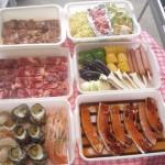 三浦海岸で海鮮手ぶらBBQ ビーチでのBBQ