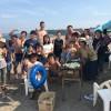 真夏のビーチBBQとお洒落なヨガサップ