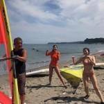 まだまだ暑い日が続きます、海水浴やマリンスポーツを楽しめます。