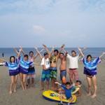 三浦海岸ビーチBBQと海水浴とマリンスポーツ