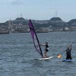 三浦海岸は真夏の空